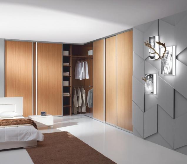 l shaped wardrobe sliding door 2